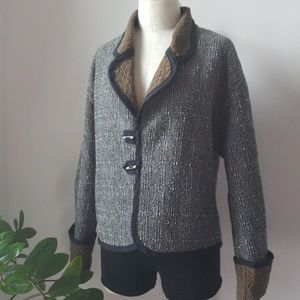 Vintage Reversible Blazer Jacket